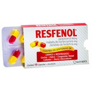 Resfenol Envelope com 10 Cápsulas