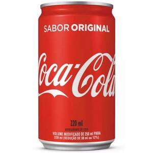 Refrigerante Coca-Cola Lata 220ml