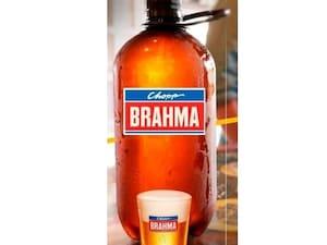 Chopp Brahma 2 litros