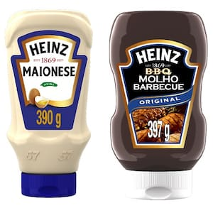 Combo Heinz Maionese + Barbecue