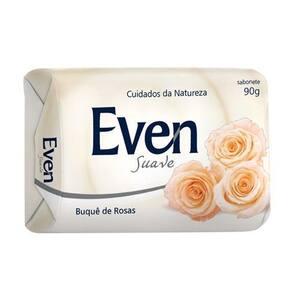 Sabonete Even Buque de Rosas Embalagem 90g