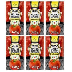 Combo Heinz 6x Molho De Tomate Trad.