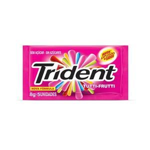 Goma de Mascar Trident Tutti Frutti Embalagem 8g