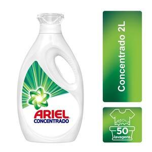 Sabão Líquido Ariel Concentrado Embalagem 2l