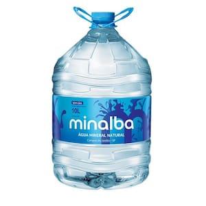 Água Mineral sem Gás Minalba Garrafão 10l