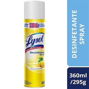 Desinfetante Lysol Lima 360ml
