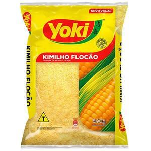 Farinha de Milho Flocada Yoki Kimilho Flocão 500g