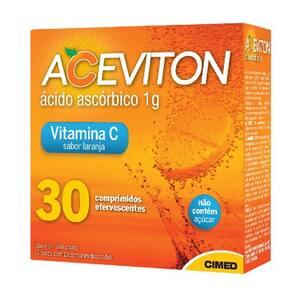 Aceviton 1g 30 Comprimidos Efervecentes