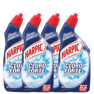 Combo Harpic Cloro Forte Fresh 500ml
