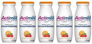Combo Actimel Laranja/Acerola 100g