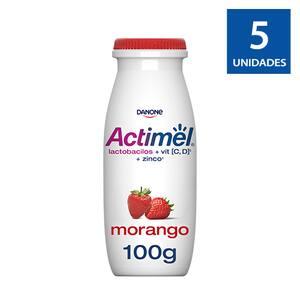 Combo Actimel Morango 100g