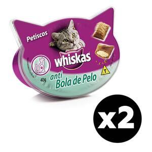 Combo Petisco Whiskas Temptations 40