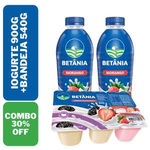 Combo Iogurtes Betania 900g + 540g