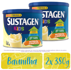 Combo Sustagen Kids Baunilha 380g