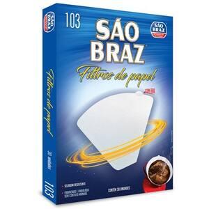 Filtro de Papel São Braz N103 Embalagem 30un