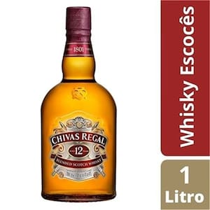Whisky Escocês Blended Chivas Regal 12 Anos Garrafa 1l