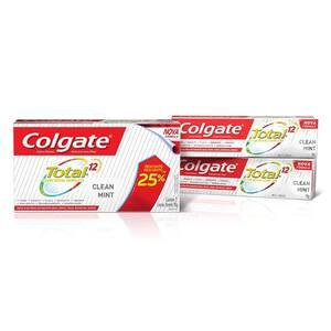 Creme Dental Colgate Total 12 Clean Mint 90g Oferta 2un