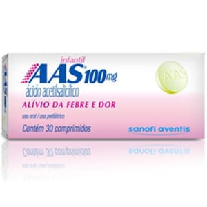 A a S Inf 100mg 30 Cprs