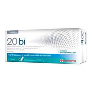 20 Bi Eurofarma 10 Cápsulas