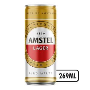 Cerveja Amstel Lata 269ml