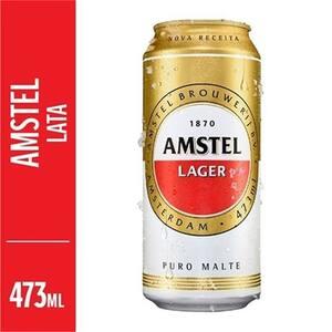 Cerveja Amstel Lata 473ml