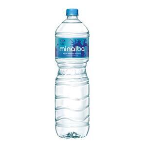 Água Mineral sem Gás Minalba Garrafa 1,5l
