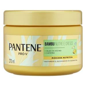Creme de Tratamento Pantene Bambu Nutre & Cresce 270ml