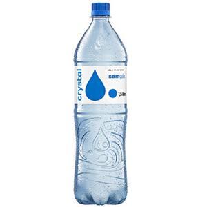 Água Mineral sem Gás Crystal 1,5l