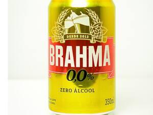 Brahma Zero Álcool Lata 350ml