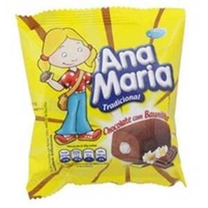 Bolo Pullman Ana Maria Chocolate Baunilha Embalagem 80g