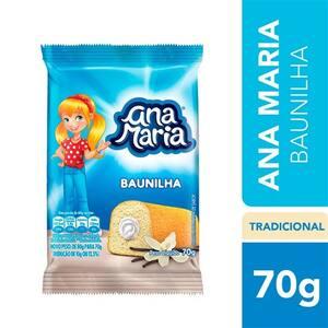 Bolinho Ana Maria Baunilha 70g