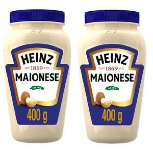 Combo Heinz 2x Maionese Trad. 400g