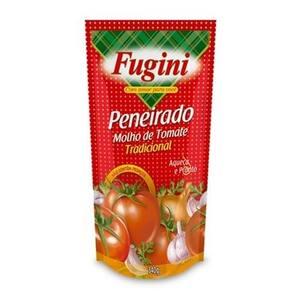 Molho de Tomate Fugini Tradicional Peneirado Sachê 340g