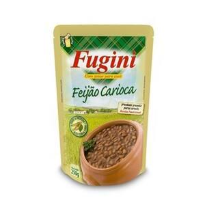 Feijão Carioca Fugini Sachê 250g