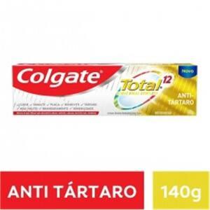 Colgate Cr Dental Total 12 Anti Tartaro 140grcre