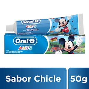Creme Dental Oral-B Kids Mickey Chicle Embalagem 50g