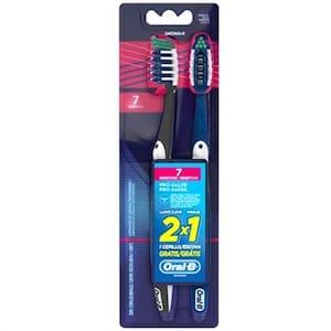 Escova Dental Oral-B Pró Saúde 7 Benefícios 40 Oferta 2 Un