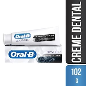 Creme Dental Oral B 3dw Mineral Clean 102g
