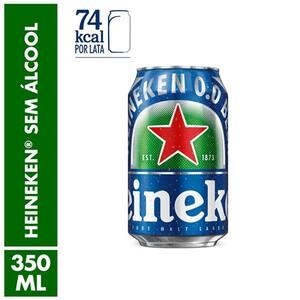 Cerveja Heineken Zero Álcool 350ml