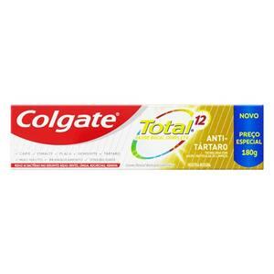 Creme Dental Colgate Total 12 Anti Tartáro 180g