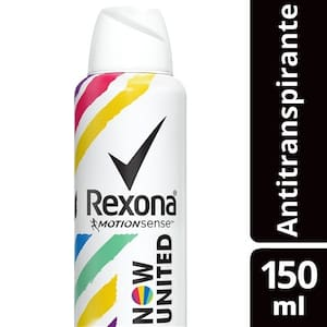 Desodorante Antitranspirante Rexona Now United Aerosol 150ml