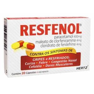 Resfenol 20 Capsulas