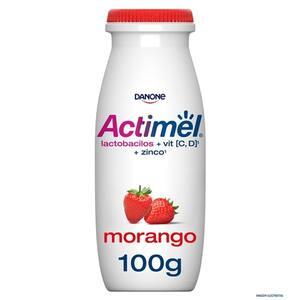 Leite Fermentado Actimel Morango 100g