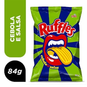 Batata Ruffes Cebola e Salsa 84g