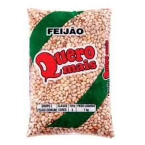Feijão Carioca Quero Mais 1kg