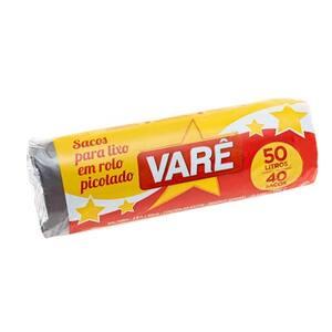Saco de Lixo Vare 50l 40un