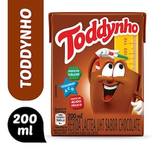 Bebida Láctea Toddynho Chocolate 200ml