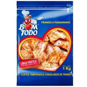 Frango Passarinha Bom Todo Saco 1kg