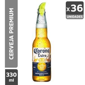 Combo Cerveja Corona Extra 330ml