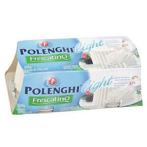 Queijo Frescatino Polenghi Light Embalagem 500g
